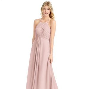 Azazie Ginger Bridesmaid Dress in Dusty Rose- A4